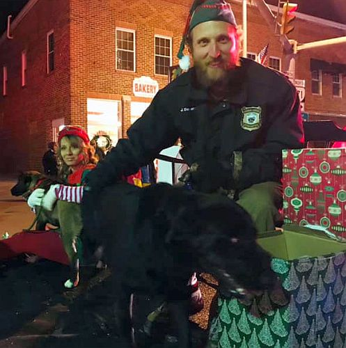 Scott County Animal Shelter Christmas Parade Float